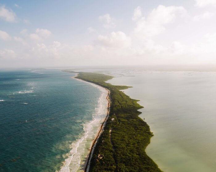tolum beach - Viagem para Cancún