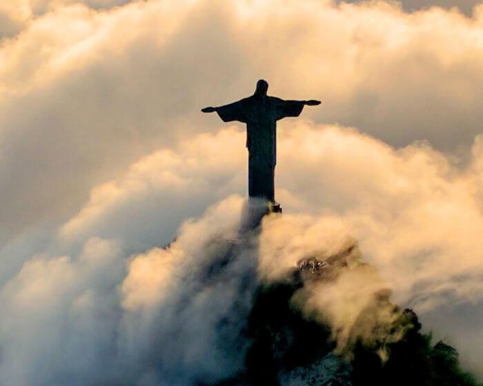 Crista Redentor uma das 7 maravilhas do mundo