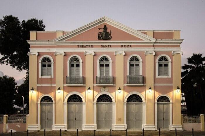 teatro Santa Rosa, mostrando o que fazer em João Pessoa